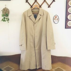 Christian Dior Vintage Monsieur Lined Trench Coat